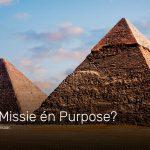 Breaking in branding: het schokkende verschil tussen purpose, missie en visie