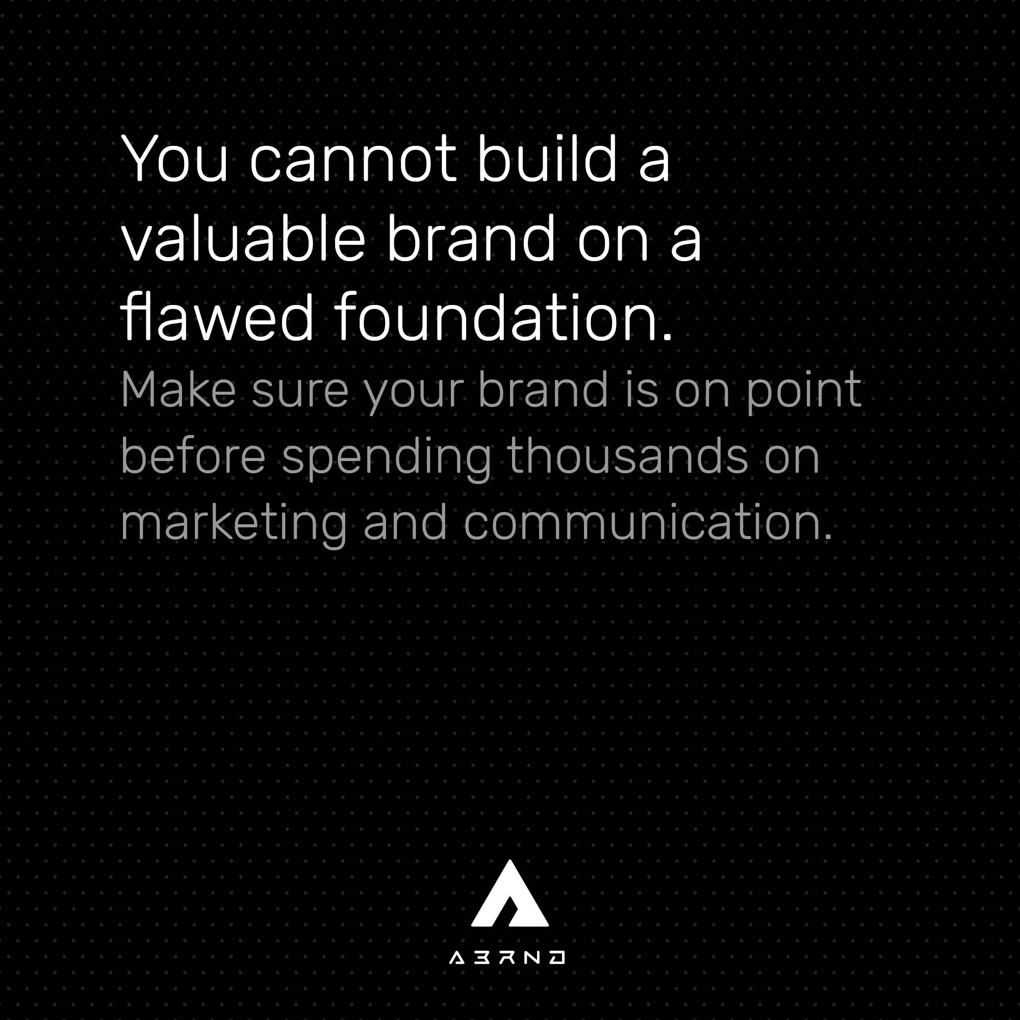 10-01-post-cannot-build-a-valuable-brand-on-a-flawed-foundation-kleiner